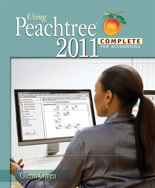 Using Peachtree Complete 2011 for Accounting (with Data File and Accounting CD-ROM)