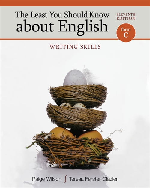 The Least You Should Know About English : Writing Skills, Form C