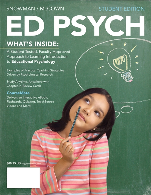 ED PSYCH (with CourseMate, 1 term (6 months) Printed Access Card)