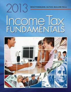 Income Tax Fundamentals 2013 (with H&R BLOCK At Home' Tax Preparation Software CD-ROM)