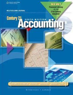 Century 21 Accounting : Multicolumn Journal, 2012 Update