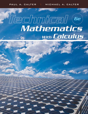 Technical Mathematics with Calculus 6e + WileyPLUS Registration Card