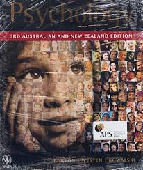 Psychology 3rd Australian and New Zealand Edition + Cyberpsych Registration Card Version 4.0 (new copies only)