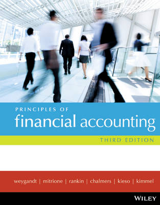 Principles of Financial Accounting 3E +Wileyplus/Istudy Version 1 (with new copies only)