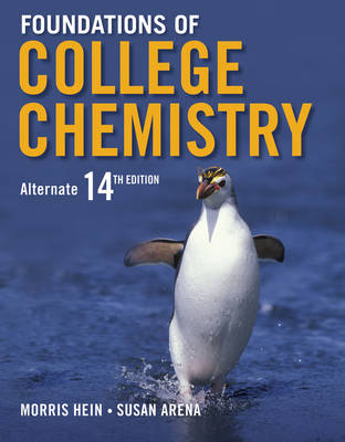 Foundations of College Chemistry 14e + WileyPLUS Registration Card
