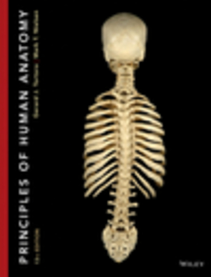Principles of Human Anatomy 13e + WileyPLUS Registration Card