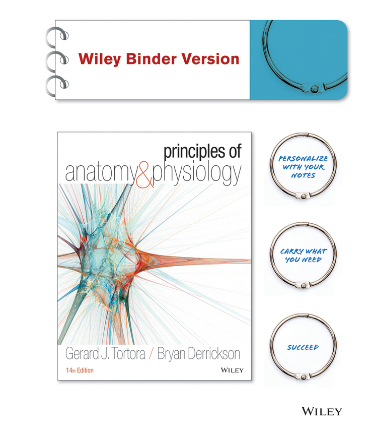 Principles of Anatomy and Physiology 14e Binder Ready Version with Atlas of the Skeleton 3e Set