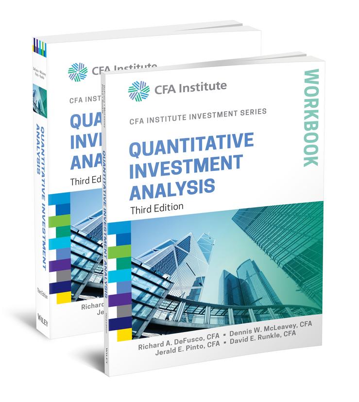 Quantitative Investment Analysis, 3e Book and Workbook Set