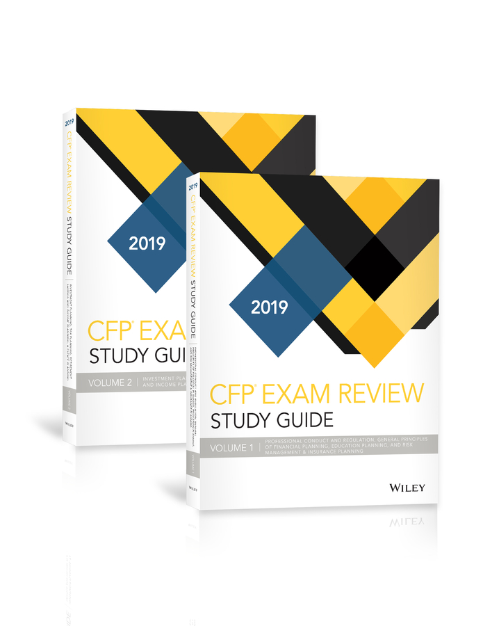 Wiley Study Guide for 2019 CFP Exam