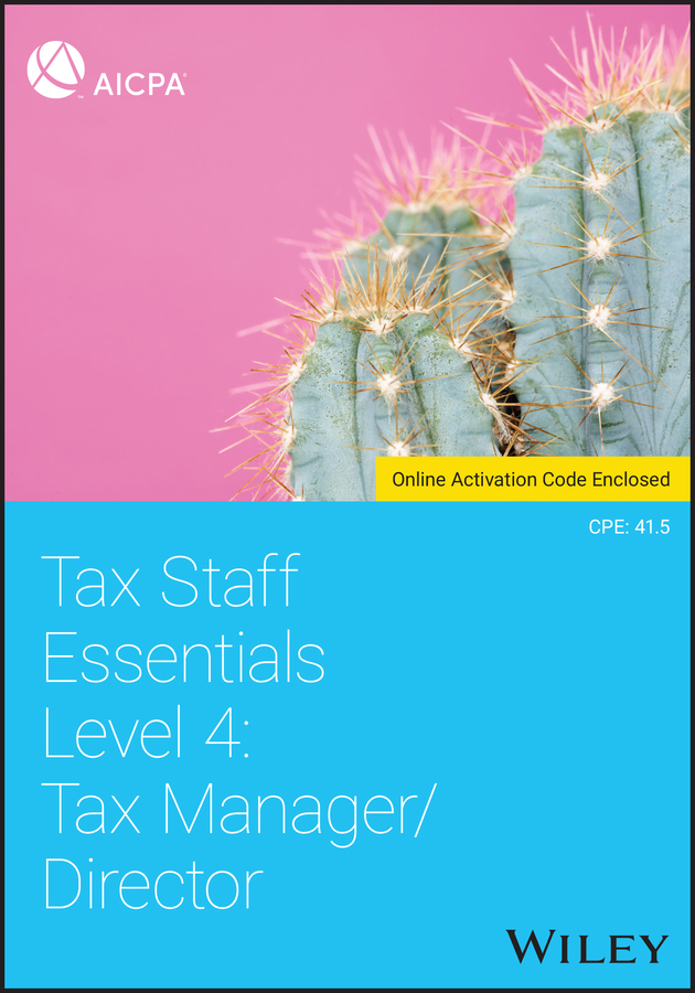 Tax Staff Essentials, Level 4