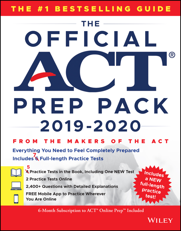 The Official ACT Prep Pack 2019-2020 with 7 Full Practice Tests