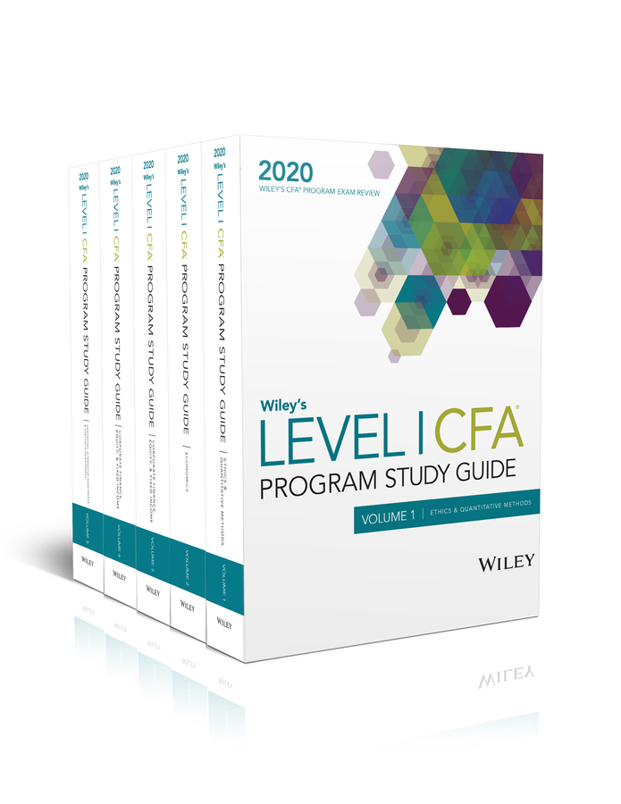 Wiley's Level I CFA Program Study Guide 2020
