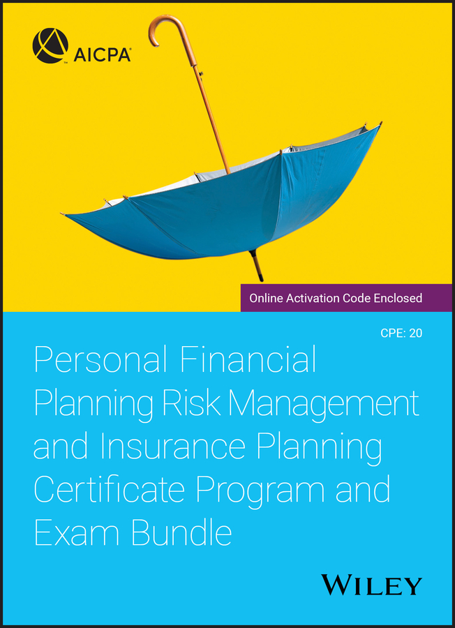 Personal Financial Planning Risk Management and Insurance Planning Certificate Program and Exam Bundle