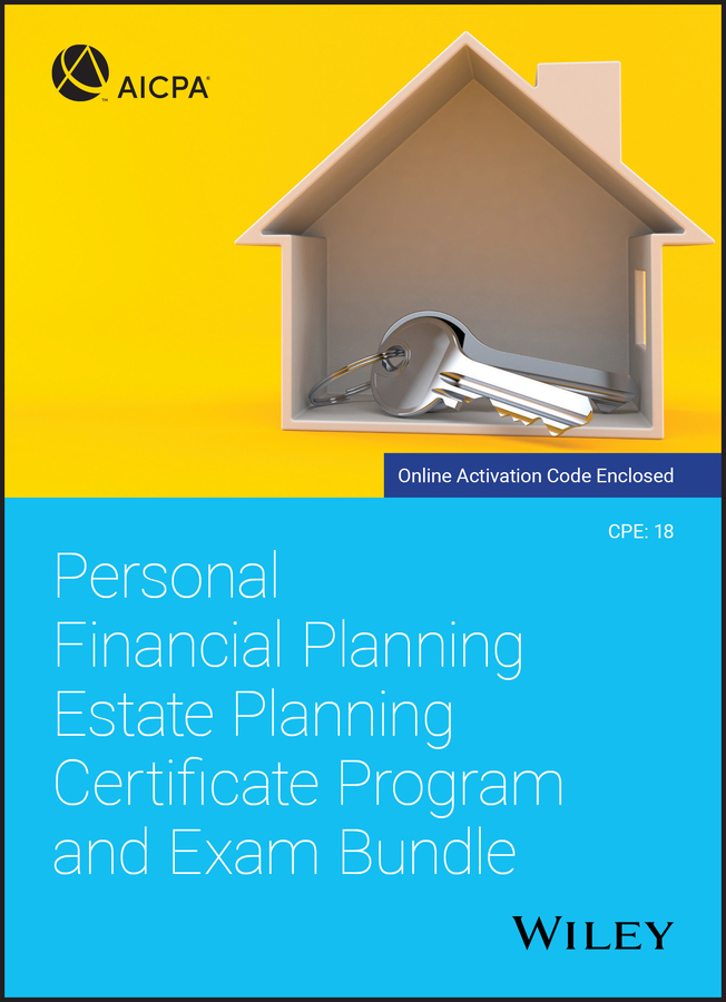 Personal Financial Planning Estate Planning Certificate Program and Exam Bundle