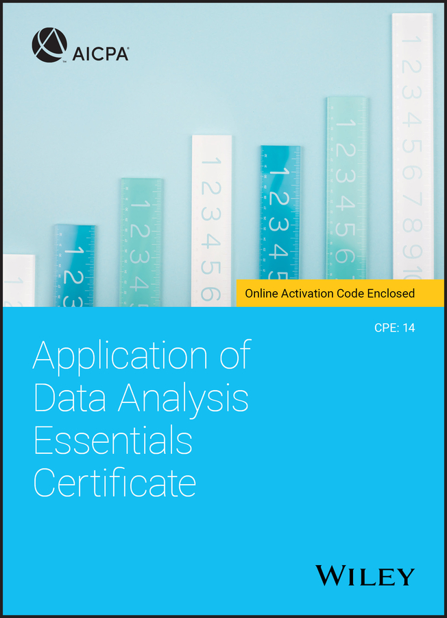 Application of Data Analysis Essentials Certificate