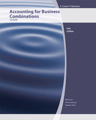 (AUCS) Accounting for Business Combinations: 22320 Custom for University of Technology Broadway