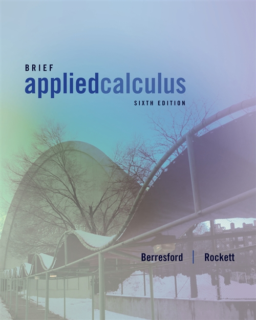 Applied Calculus, Brief
