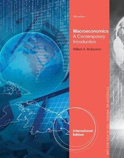 Macroeconomics : A Contemporary Approach, International Edition