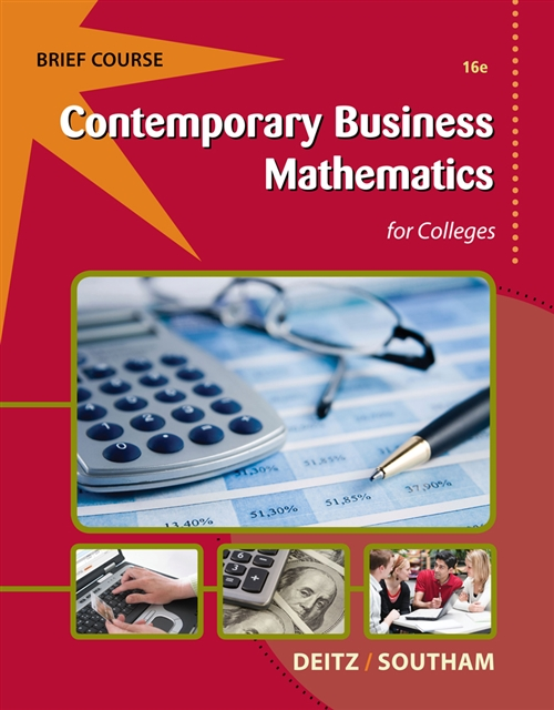 Contemporary Business Mathematics for Colleges, Brief (with Printed Access Card)