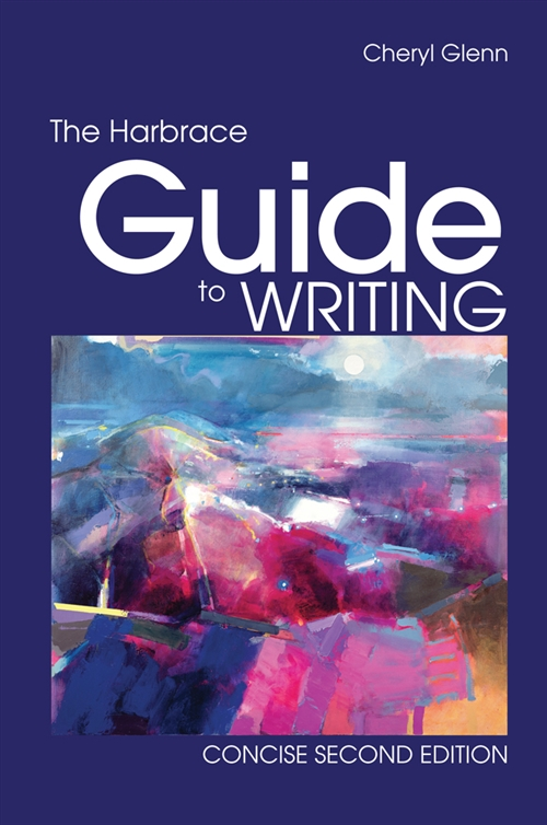 Bundle: The Harbrace Guide to Writing, Concise, 2nd + English CourseMate with eBook Printed Access Card