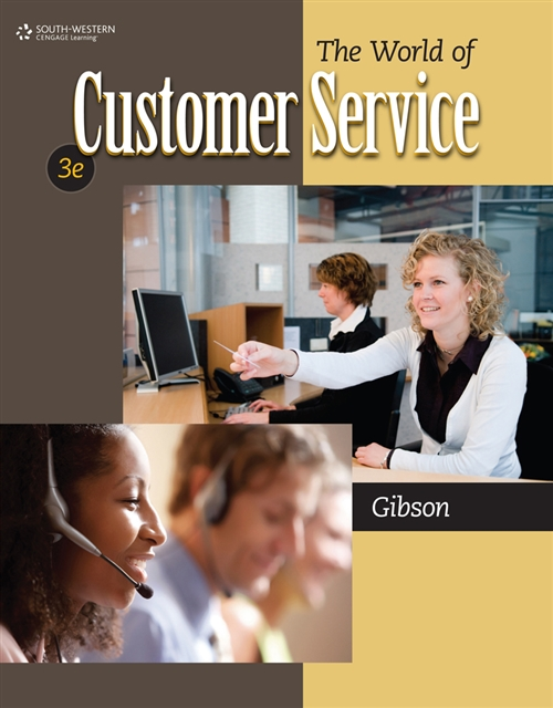 Bundle: The World of Customer Service, 3rd + Career Readiness CourseMate with eBook Printed Access Card