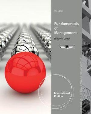 Fundamentals of Management, International Edition