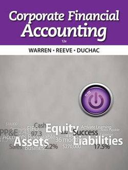 Corporate Financial Accounting