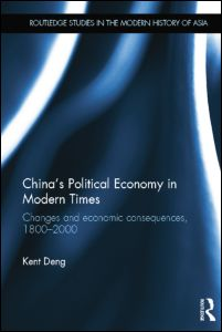 China's Political Economy in Modern Times