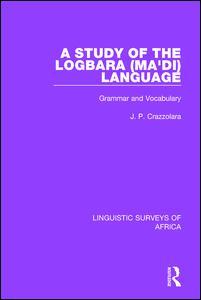 A Study of the Logbara (Ma'di) Language
