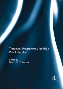 Treatment programmes for high risk offenders