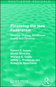 Financing the New Federalism