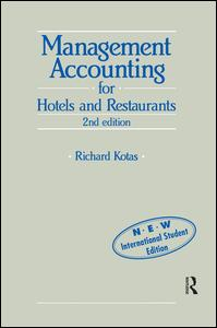 Management Accounting for Hotels and Restaurants