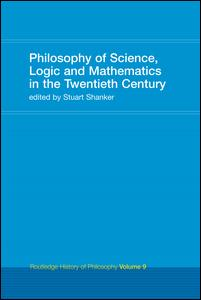 Philosophy of Science, Logic and Mathematics in the 20th Century