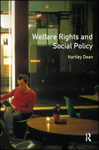 Welfare Rights and Social Policy