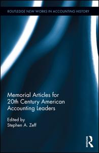 Memorial Articles for 20th Century American Accounting Leaders