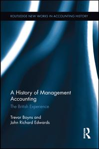 A History of Management Accounting