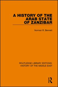 A History of the Arab State of Zanzibar