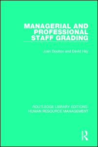 Managerial and Professional Staff Grading