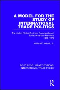 A Model for the Study of International Trade Politics