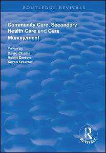 Community Care, Secondary Health Care and Care Management