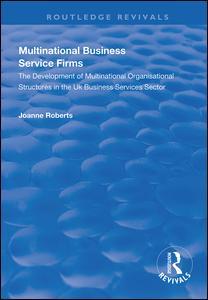 Multinational Business Service Firms