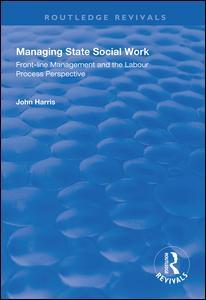 Managing State Social Work