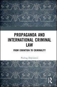 Propaganda and International Criminal Law