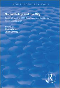 Social Policy and the City
