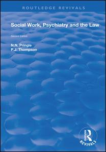 Social Work, Psychiatry and the Law