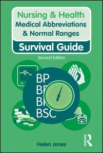 Medical Abbreviations & Normal Ranges