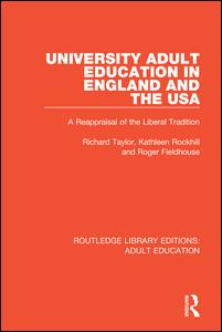 University Adult Education in England and the USA
