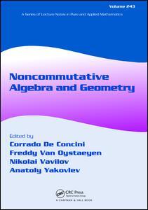 Noncommutative Algebra and Geometry