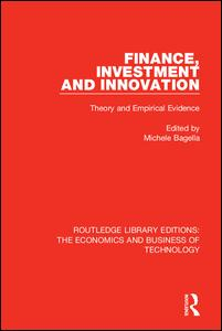 Finance, Investment and Innovation