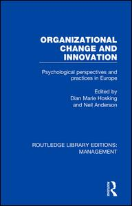 Organizational Change and Innovation